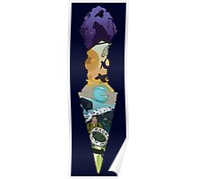 Uncharted 1-4 Phurba dagger Poster