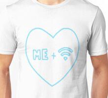 True Love. (Wifi Edition - Blue) Unisex T-Shirt