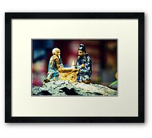 Play the Game  Framed Print