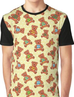 teddy bear pattern Graphic T-Shirt
