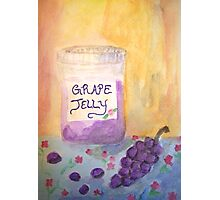Grape Jelly Photographic Print