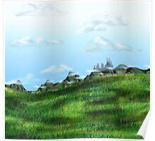 Cloud Meadow Poster