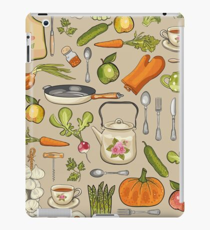 Retro kitchen. iPad Case/Skin