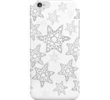 Snowflakes are falling iPhone Case/Skin
