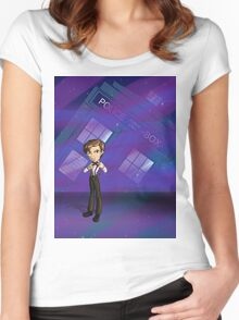 11th Doctor Women's Fitted Scoop T-Shirt