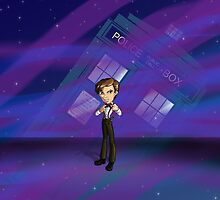 11th Doctor by thedustyphoenix
