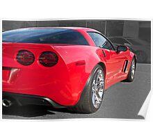 2012 Corvette Poster