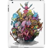 Monster Art Ball iPad Case/Skin