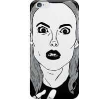 Britta sees everything iPhone Case/Skin