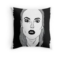 Britta sees everything Throw Pillow