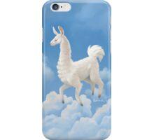 Llama in the Sky iPhone Case/Skin