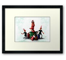 Christmas Card for 2013 Framed Print