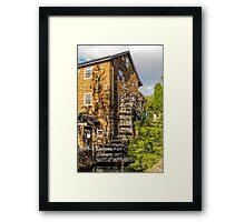 Penny Royal Water Mill, Launceston, Tasmania, Australia Framed Print