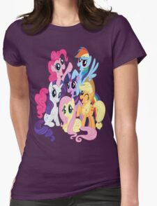 Mane Six Group Womens Fitted T-Shirt