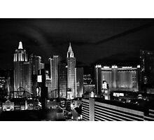 Lights of Vegas Photographic Print