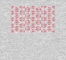 Bike Red Polka Dot (Small) Unisex T-Shirt