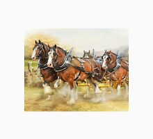 Clydesdales in Harness Classic T-Shirt