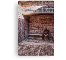 Detention - Old Dubbo Gaol - The HDR Experience Canvas Print