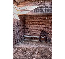 Detention - Old Dubbo Gaol - The HDR Experience Photographic Print