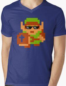 Thug Life Link Mens V-Neck T-Shirt