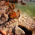 Kuta Rocks Tasmania by Angelika  Vogel