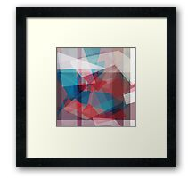 mixed up in hues of sweetness Framed Print