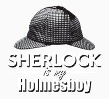 Sherlock is my Holmesboy One Piece - Long Sleeve
