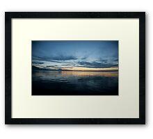 Lake Zug, Switzerland Framed Print