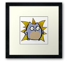 super owl Framed Print