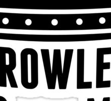 Crowley is my king Sticker