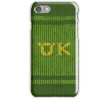 Oozma Kappa sweater. iPhone Case/Skin