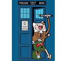 Adventure Time Lord Generation 10 - TARDIS Photographic Print