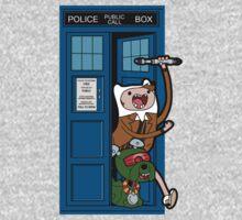 Adventure Time Lord Generation 10 - TARDIS Kids Tee