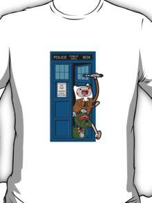 Adventure Time Lord Generation 10 - TARDIS T-Shirt