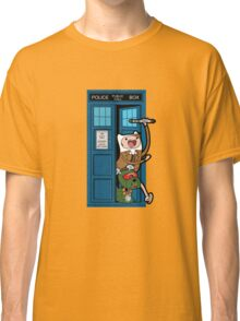 Adventure Time Lord Generation 10 - TARDIS Classic T-Shirt