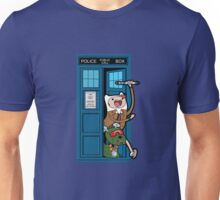 Adventure Time Lord Generation 10 - TARDIS Unisex T-Shirt