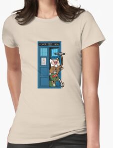 Adventure Time Lord Generation 10 - TARDIS T-Shirt