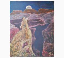 Coyote Sings Down the Moon Kids Tee