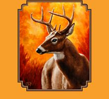 Whitetail Deer Buck Portrait Unisex T-Shirt