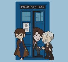 The Doctor's 50th Kids Tee