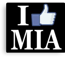 I Like MIAMI - I Love MIAMI - MIA Canvas Print