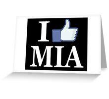 I Like MIAMI - I Love MIAMI - MIA Greeting Card