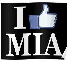 I Like MIAMI - I Love MIAMI - MIA Poster