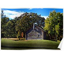 Cozy Country Cabin Poster
