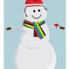 World Champion Snowman by Velocast