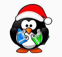 Christmas Penguin with Gift Boxes Unisex T-Shirt