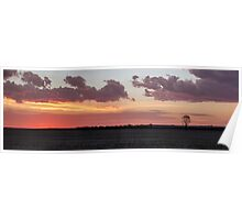 Lake Mears Sunset Poster