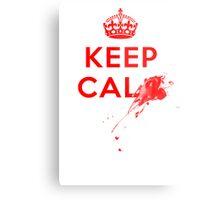 Don't Keep Calm! Metal Print