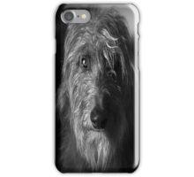 scottish hound phone iPhone Case/Skin