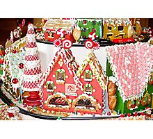 Gingerbread Village Study 3  Photographic Print